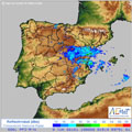 Radar de lluvia para España